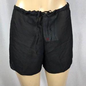 Zuliana drawstring cover up shorts